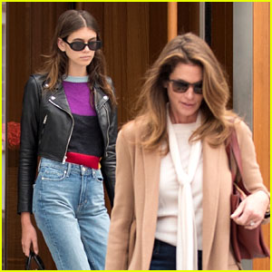 Cindy Crawford & Kaia Gerber Step Out in London!
