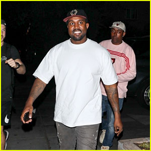Kanye West Is All Smiles After Dinner in Beverly Hills!
