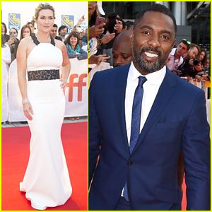 Kate Winslet & Idris Elba Premiere 'The Mountain Between Us' at TIFF
