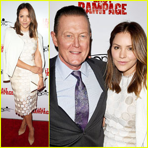 Katharine McPhee Supports Robert Patrick at 'Last Rampage' Premiere!