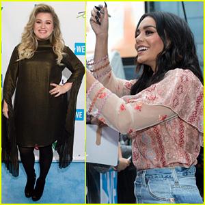 Kelly Clarkson & Vanessa Hudgens Inspire Youth at WE Day 2017