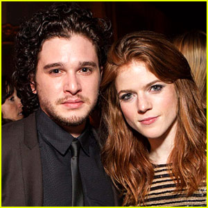 Kit Harington Rose Leslie Leave Wedding In Just Married Car