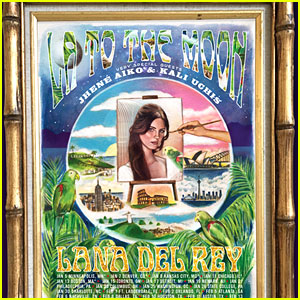 Lana Del Rey Announces North American 'LA to the Moon' Tour 2018 - See Tour Dates!