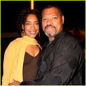 Laurence Fishburne & Gina Torres Have Seemingly Split, Gina Spotted Kissing Another Man