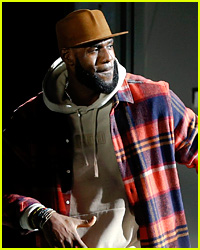 LeBron James Walks the Runway During NYFW Show!