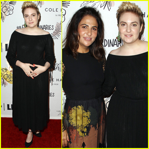 Lena Dunham Breaks a Personal Record at Lenny Anniversary Party