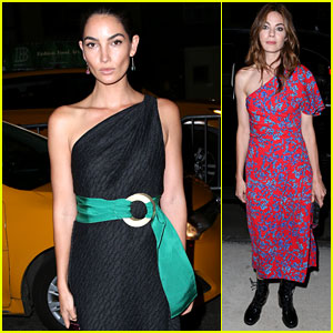 Lily Aldridge, Michelle Monaghan & More Stars Turn Out for Carolina Herrera NYFW Show!