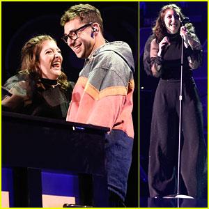 Lorde Brings Special Guests Jack Antonoff & Khalid to iHeartRadio Music Festival