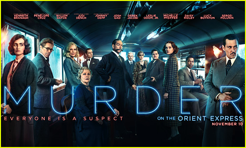 'Murder on the Orient Express' Gets New Star-Studded Poster!
