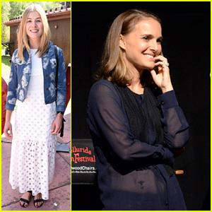 Natalie Portman & Rosamund Pike Present Movies in Telluride
