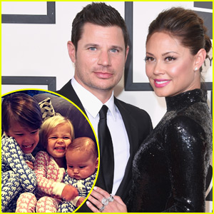 Nick & Vanessa Lachey's Three Kids Are So Cute - See Photos!