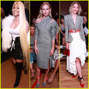 Nicki Minaj, Kate Bosworth, & Jaime King Celebrate Monse at NYFW Show