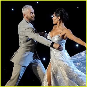 Nikki Bella Slows It Down for Elegant 'DWTS' Ballroom Night Performance (Video)