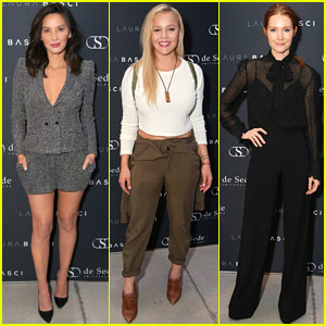 Olivia Munn, Abbie Cornish, & Darby Stanchfield Support Laura Basci at Showroom Opening!