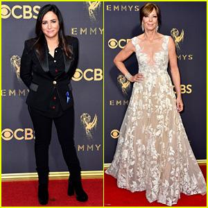 Pamela Adlon & Allison Janney Are Leading Ladies at Emmy Awards 2017