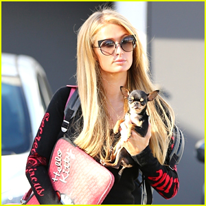 Paris Hilton Enjoys a Day of Pampering with Her Pup