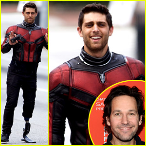 Paul Rudd's 'Ant-Man' Stunt Double Is an Amputee & Looks Really Hot in Costume!