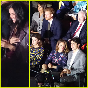 Prince Harry & Meghan Markle Attend First Public Event Together!