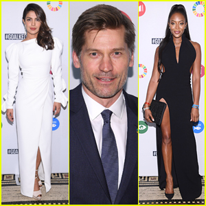 Priyanka Chopra Joins Nikolaj Coster-Waldau & Naomi Campbell at Global Goals Awards