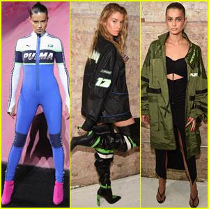 Adriana Lima, Stella Maxwell, & Taylor Hill Walk Rihanna's Fenty Puma Runway!