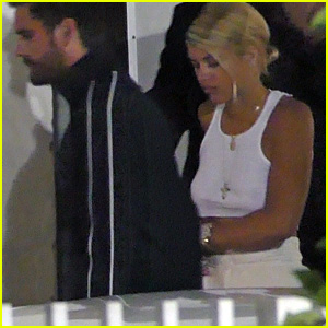 Scott Disick & Sofia Richie Couple Up for Miami Date Night