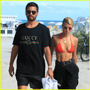 Scott Disick & Sofia Richie Spark Major Rumors with 'Congratulations' Cake