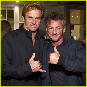 Sean Penn Supports Laird Hamilton at 'Take Every Wave' Premiere