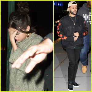 Selena Gomez & The Weeknd Step Out for Low Key Date Night