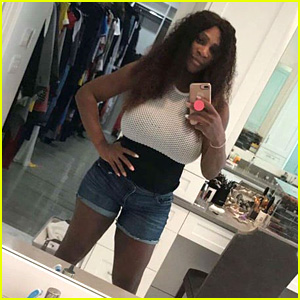 Serena Williams Shows Off Post-Baby Body Two Weeks After Giving Birth