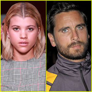 Scott Disick Spotted Kissing Sofia Richie at the Beach