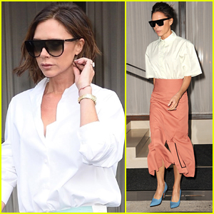 Victoria Beckham Enjoys Some Free Time During NYFW