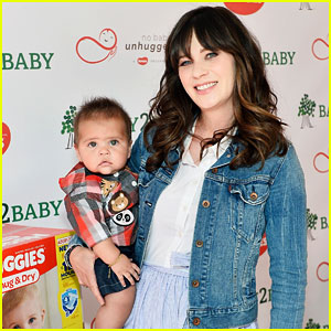 Zooey Deschanel Kicks Off National Diaper Need Awareness Week!