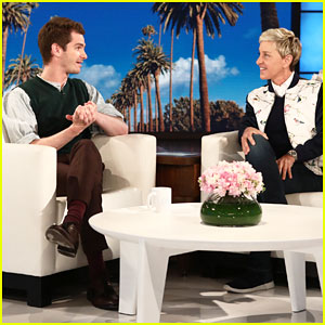 Andrew Garfield Backflips for Breast Cancer Research on 'Ellen' - Watch Here!