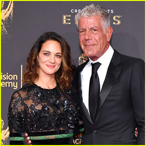 Anthony Bourdain Supports Girlfriend Asia Argento After Revealing Alleged Harvey Weinstein Rape