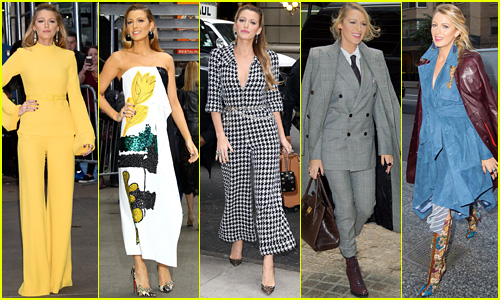 Blake Lively Has Worn Five Outfits Today, So Far - See Them All!