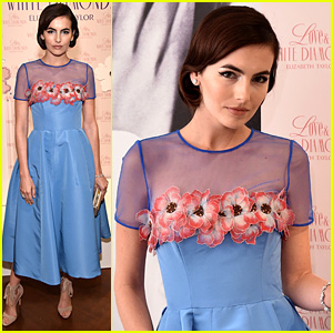Camilla Belle Honors Her Ultimate Icon, Elizabeth Taylor