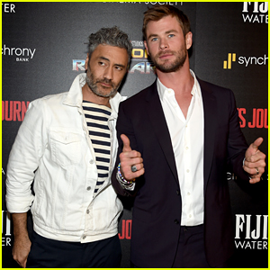 Chris Hemsworth Suits Up for 'Thor: Ragnarok' NYC Screening