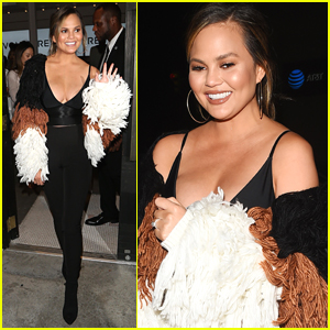 Chrissy Teigen Celebrates Her Fashion Collaboration with Revolve!