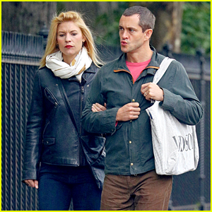 Claire Danes & Hugh Dancy Go for an Afternoon Stroll Together!