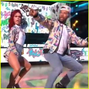 Derek Fisher Dances to 'Fresh Prince' Theme Song on 'DWTS' (Video)
