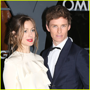 Eddie Redmayne & Wife Hannah Attend Omega Watch Party in Venice