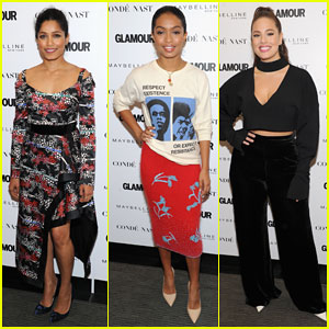 Freida Pinto, Yara Shahidi & Ashley Graham Team up for 'Glamour's The Girl Project!