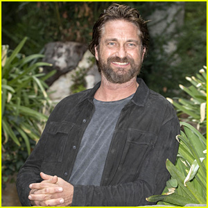 Gerard Butler Continues 'Geostorm' Press Tour in Rome!