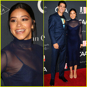 Gina Rodriguez & Joe LoCicero Look So Cute on the Red Carpet!