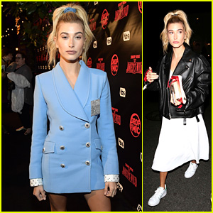 Hailey Baldwin Gets Glam at 'Drop the Mic' Premiere Party & Heads to Church!