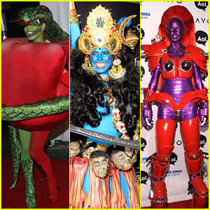 just jareds 31 days of halloween heidi klums halloween costumes through the years - Joe Jonas Halloween