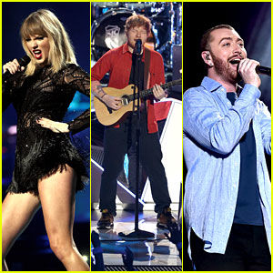 Taylor Swift, Ed Sheeran, Sam Smith & More to Perform on iHeartRadio Jingle Ball Tour 2017!