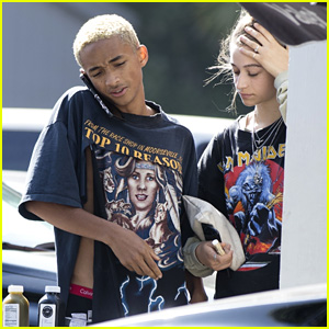 Jaden Smith & Girlfriend Odessa Adlon Step Out for Sushi Date