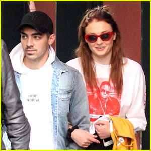 Joe Jonas & Sophie Turner Step Out Together For First Time Since Engagement