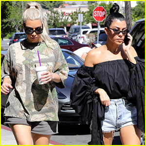 Kim & Kourtney Kardashian Go Shopping for Baby Essentials!